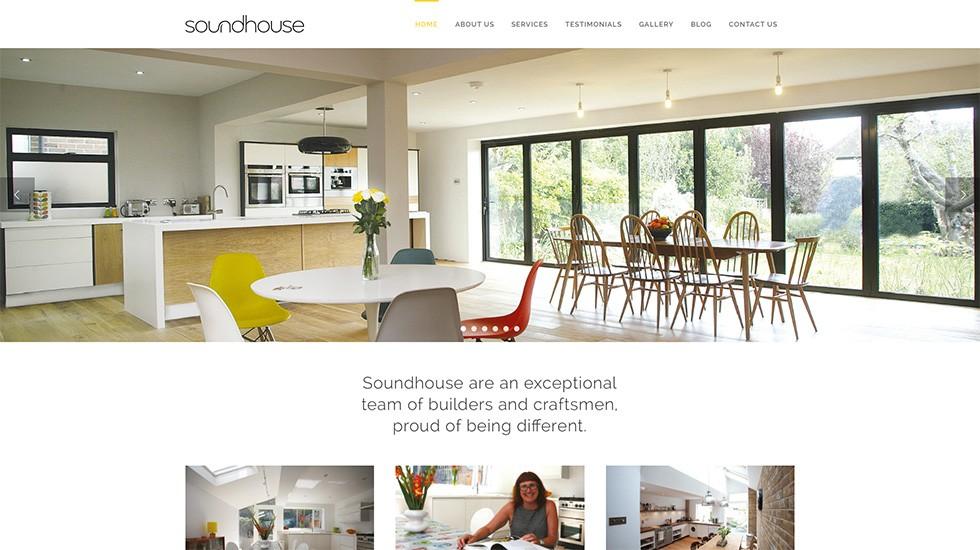 Soundhouse web site
