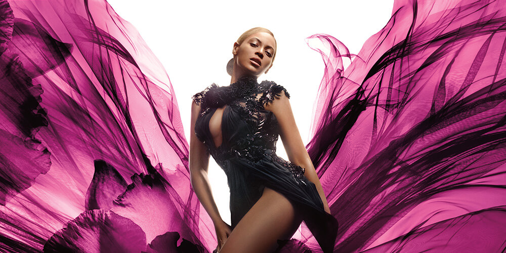 Beyonce Heat – Wild Orchid digital ads