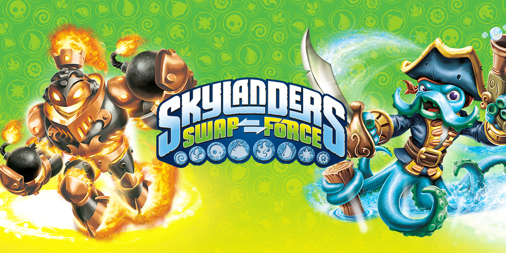 Skylanders SWAP Force digital ads